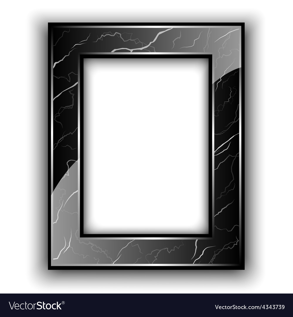 Marble frame for photo vector | Price: 1 Credit (USD $1)