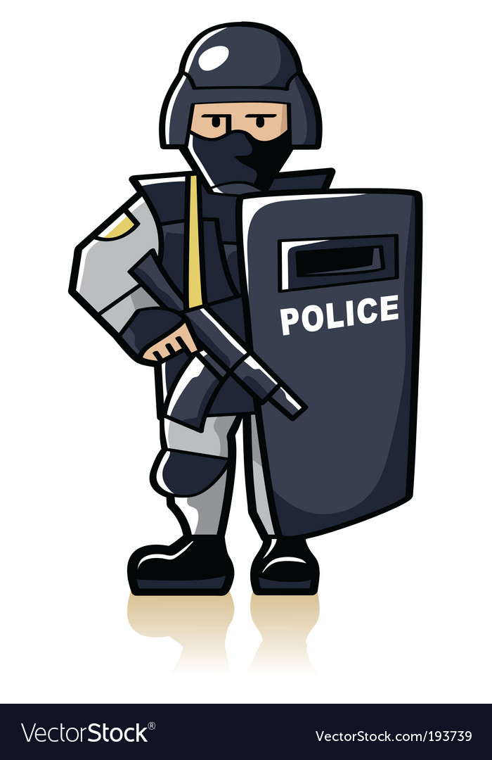 Police officer vector | Price: 1 Credit (USD $1)