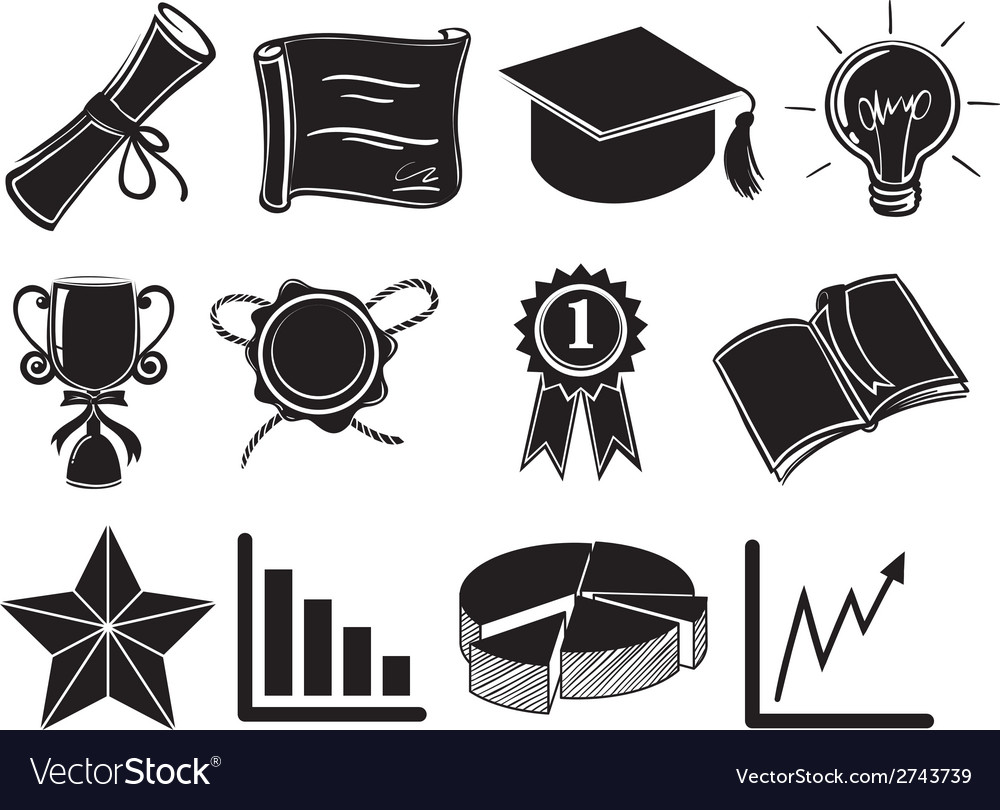 Symbols and signs of success vector | Price: 1 Credit (USD $1)