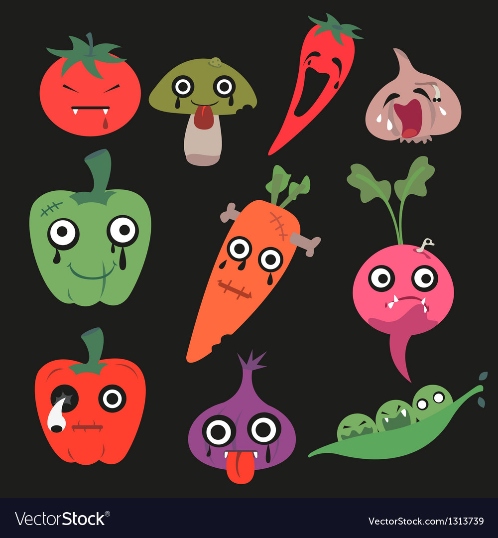 Vegetable vector | Price: 3 Credit (USD $3)