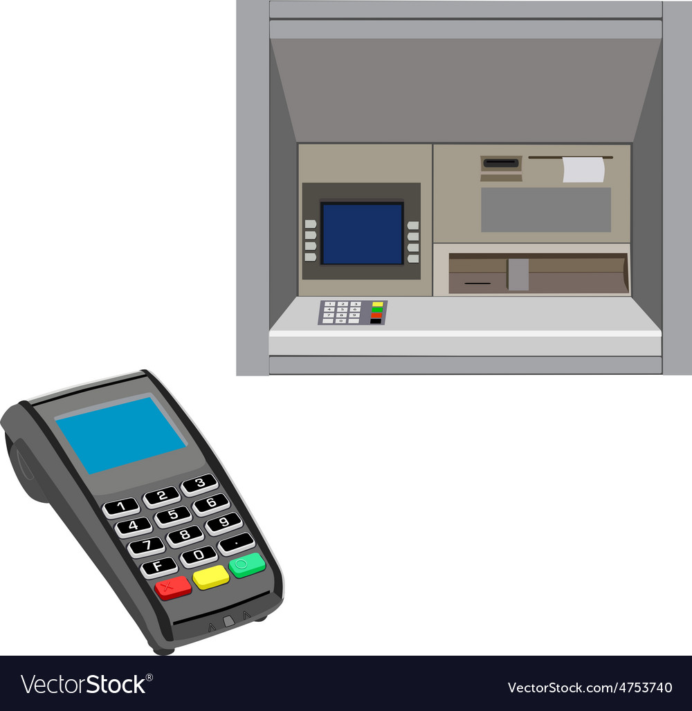 Atm and pos vector | Price: 1 Credit (USD $1)
