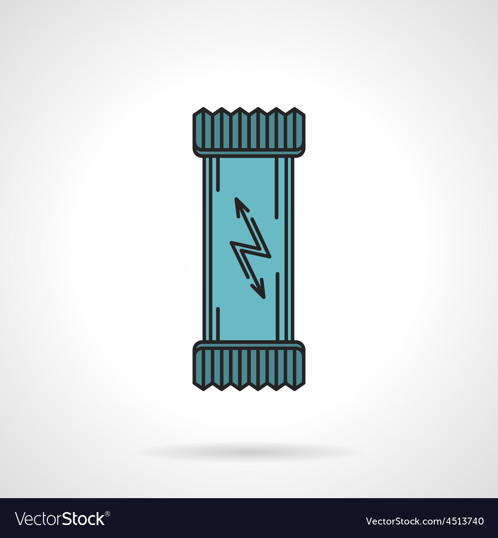 Energy bar flat icon vector | Price: 1 Credit (USD $1)