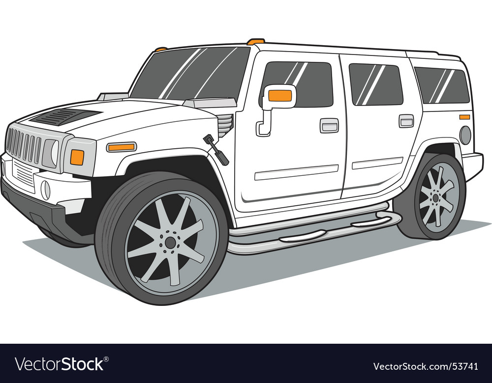 Suv vector | Price: 3 Credit (USD $3)