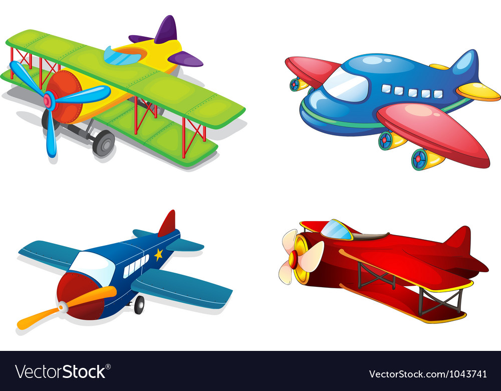 Various air planes vector   Price: 3 Credit (USD $3)