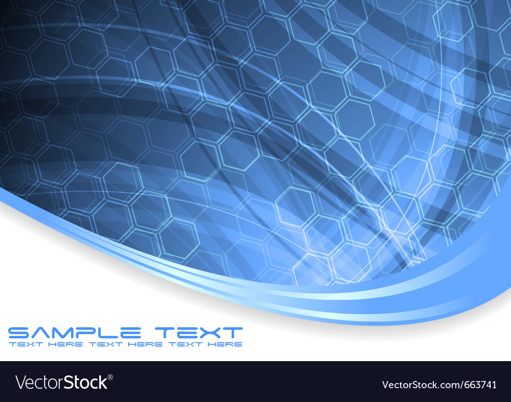 Wavy technical abstraction vector | Price: 1 Credit (USD $1)
