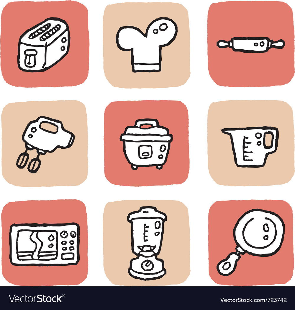 Icon kitchen vector | Price: 1 Credit (USD $1)