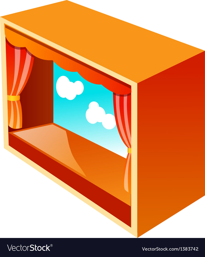 Icon theater vector
