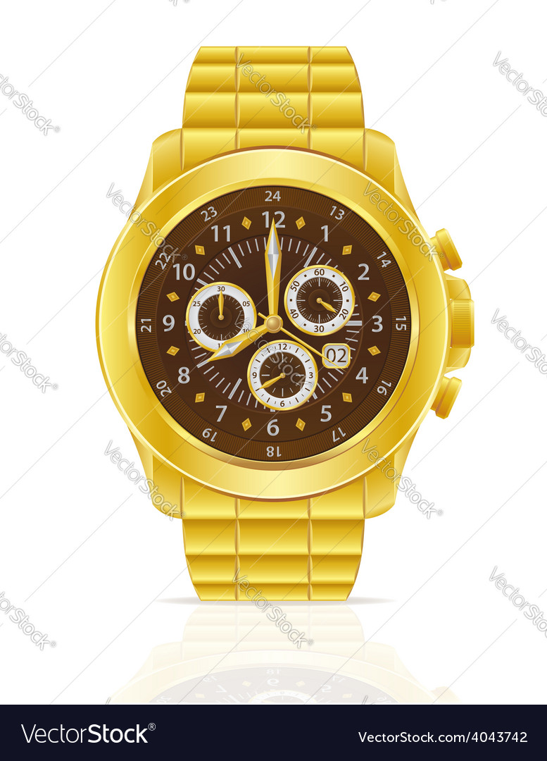 Wristwatch 02 vector | Price: 1 Credit (USD $1)