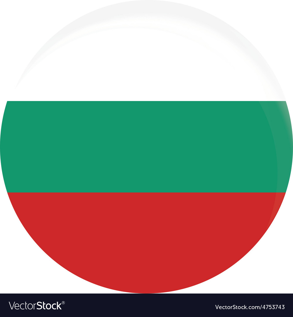 Bulgarian flag vector | Price: 1 Credit (USD $1)