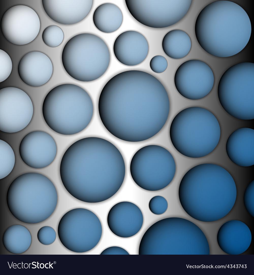 Metal speaker lattice blue background vector | Price: 1 Credit (USD $1)