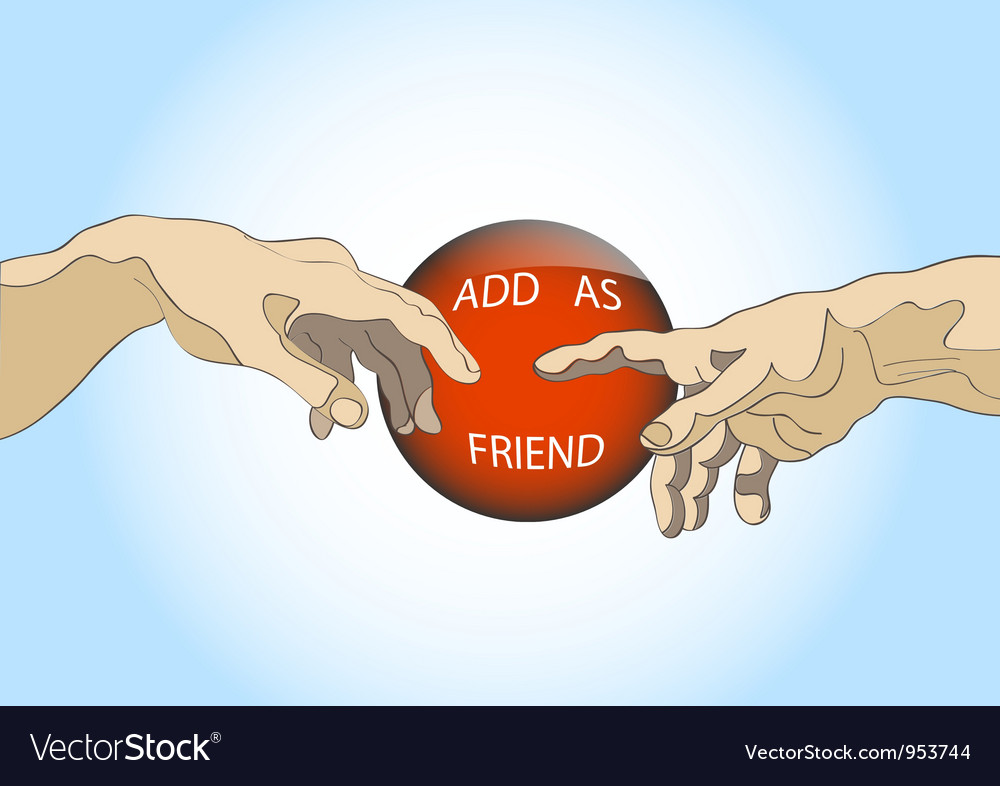 Add as friend vector | Price: 1 Credit (USD $1)