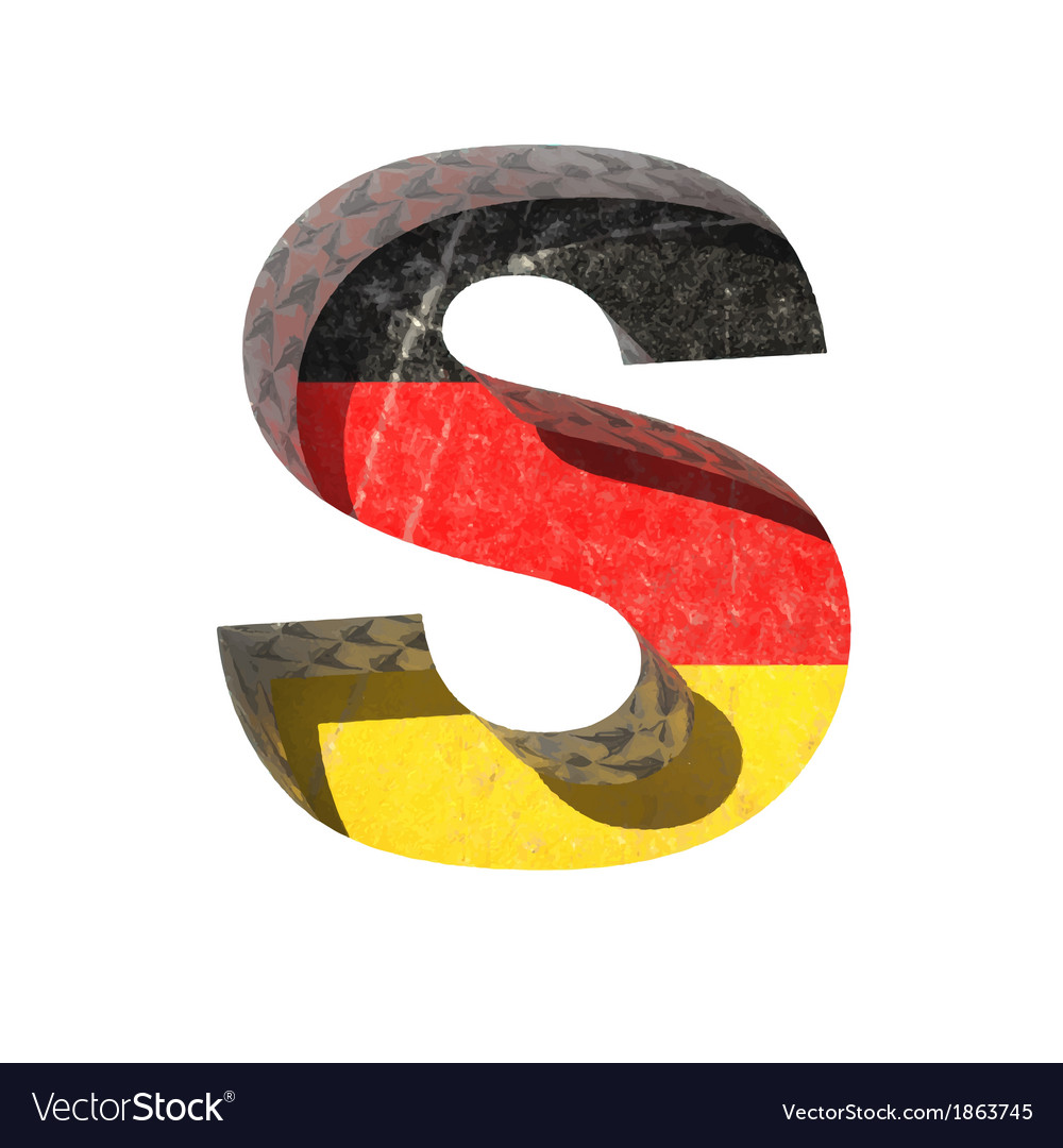 Germany cutted figure s vector | Price: 1 Credit (USD $1)