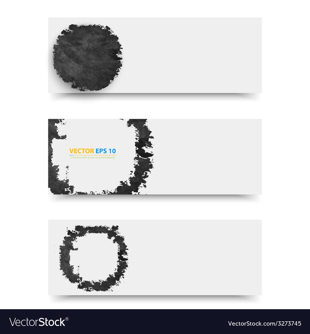 Grunge template header design vector | Price: 1 Credit (USD $1)