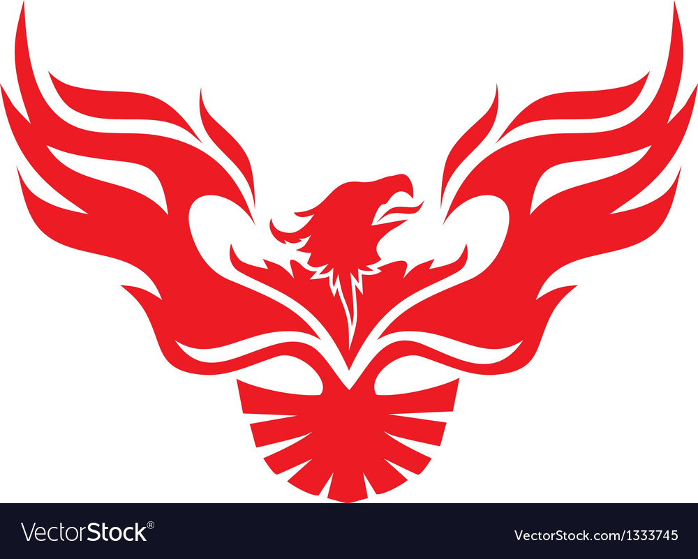 Simple image phoenix vector | Price: 1 Credit (USD $1)