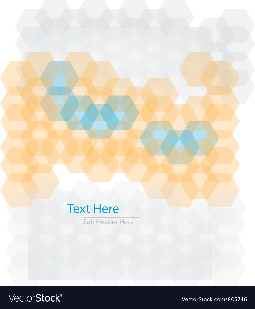 Hex cover vector | Price: 1 Credit (USD $1)