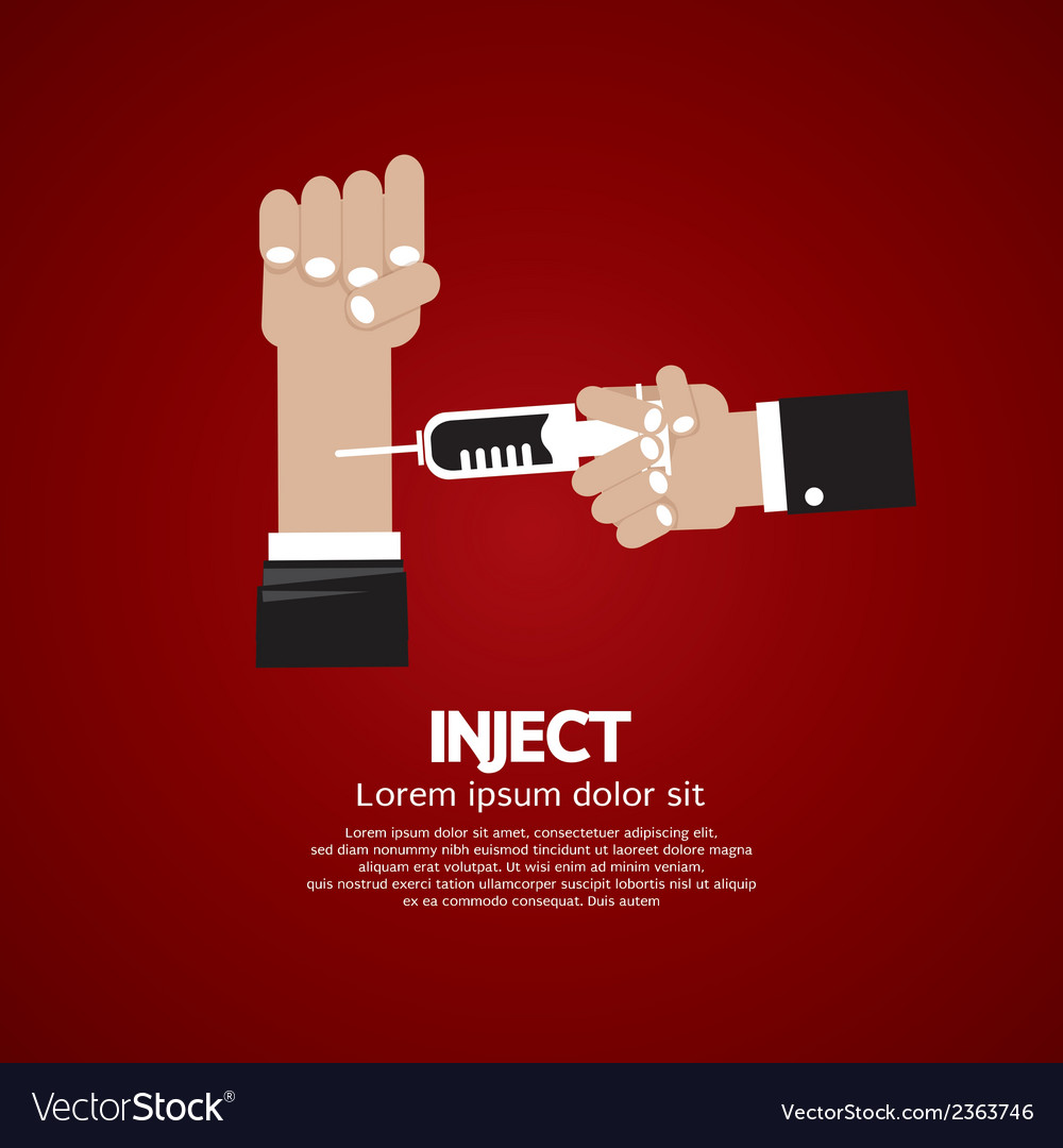 Inject vector | Price: 1 Credit (USD $1)