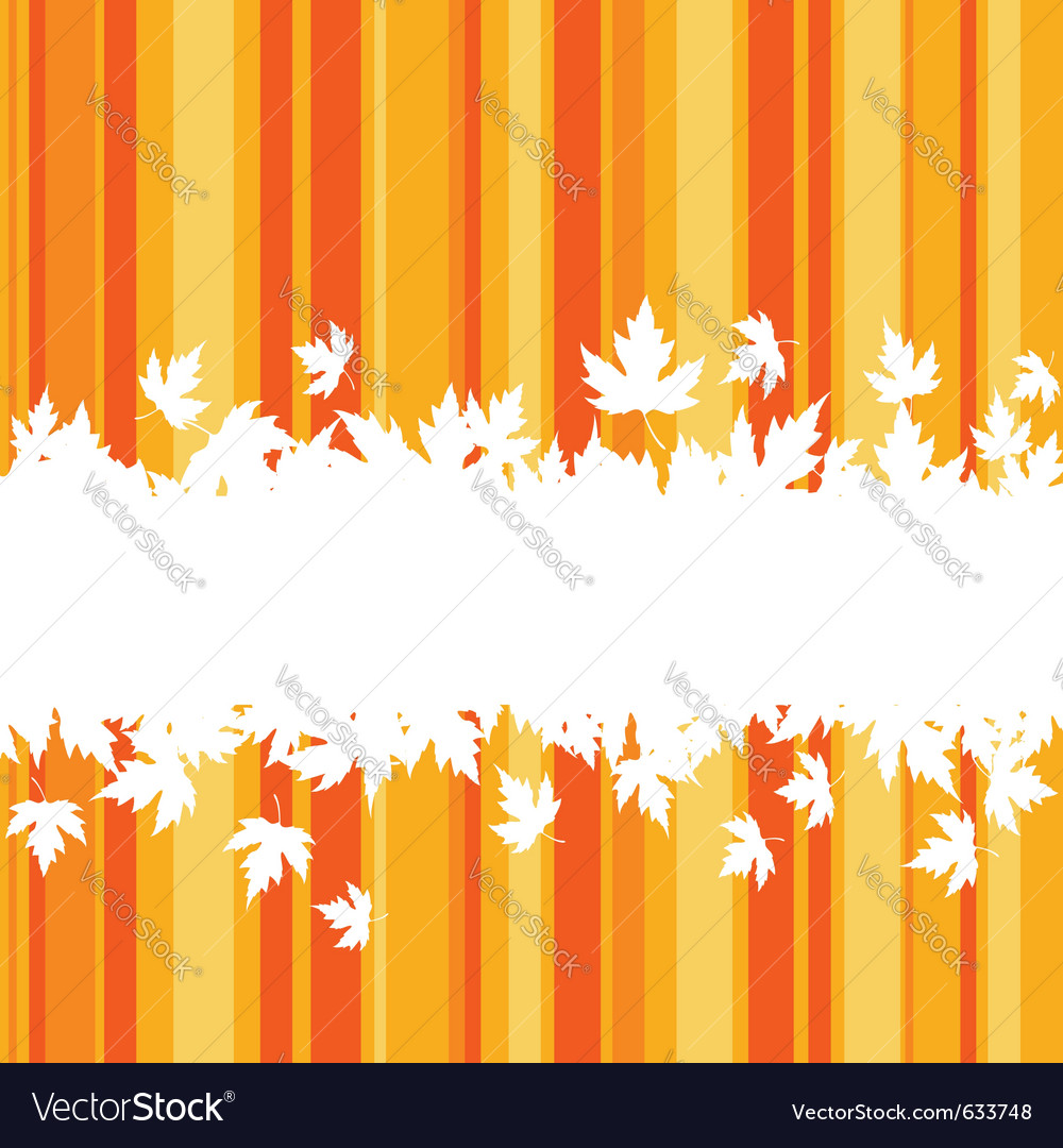 Falling leaves on colorful background for seasonal vector | Price: 1 Credit (USD $1)