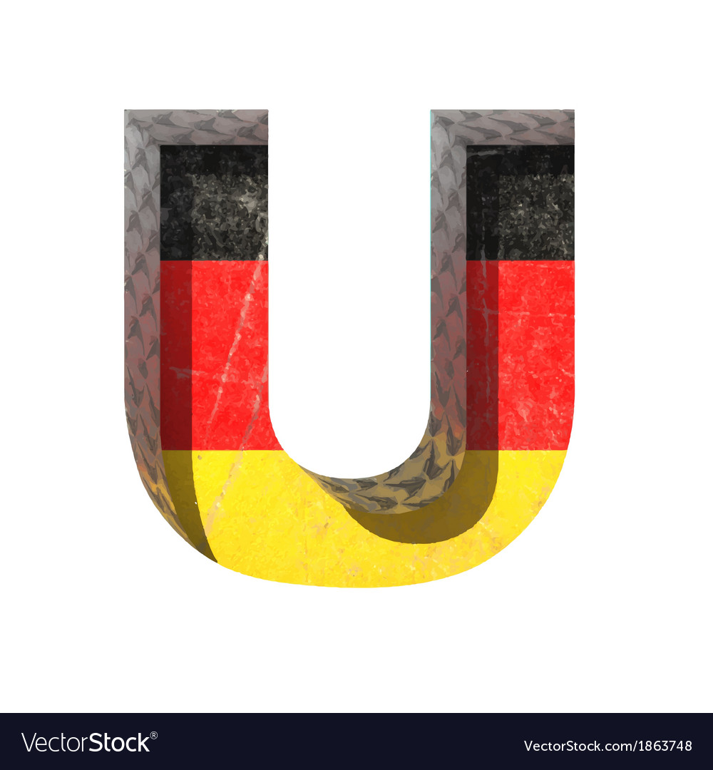 Germany cutted figure u vector   Price: 1 Credit (USD $1)