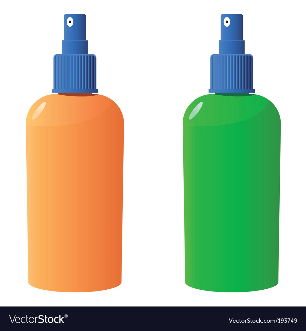 Sun protection bottle vector | Price: 1 Credit (USD $1)