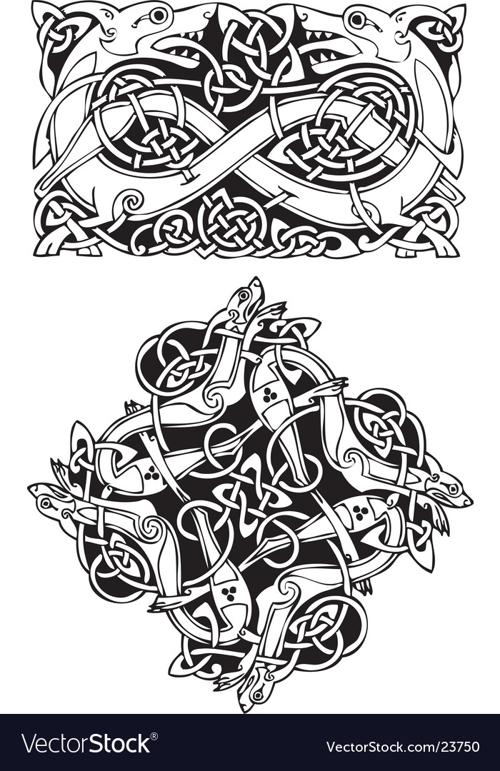 Norse emblems vector | Price: 1 Credit (USD $1)