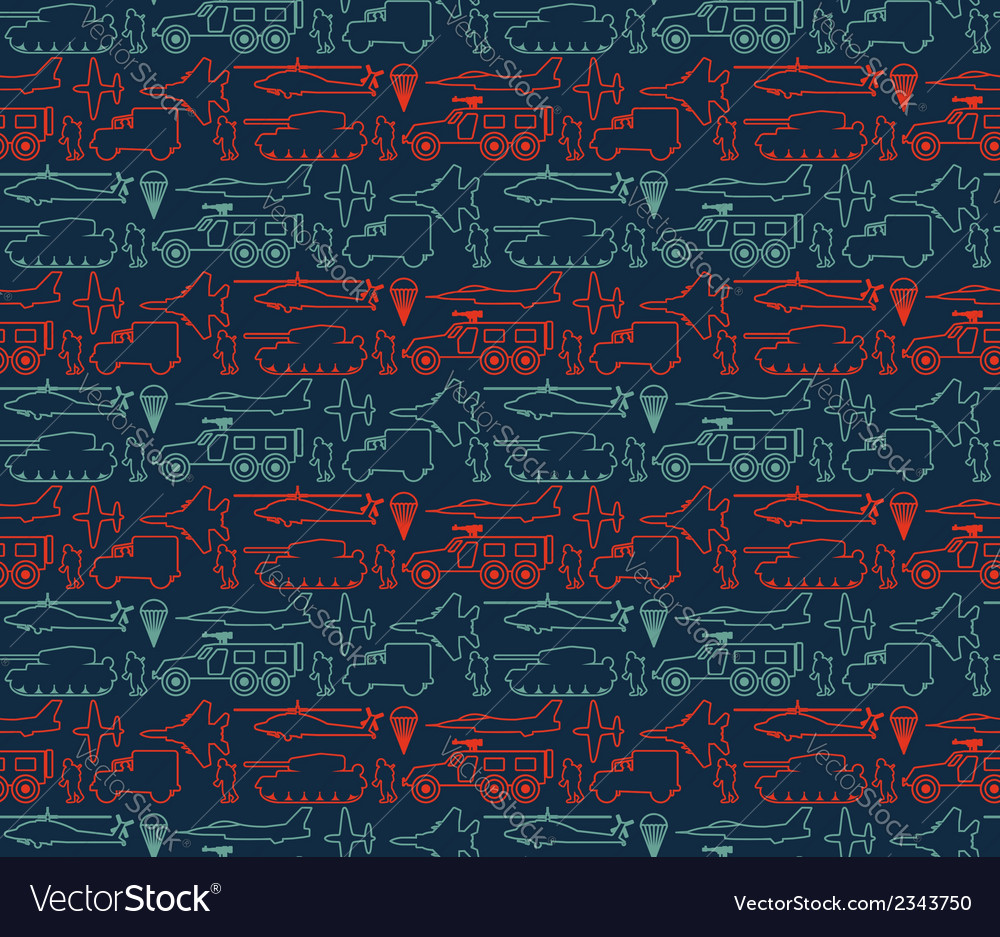 Seamless military pattern 14 vector | Price: 1 Credit (USD $1)