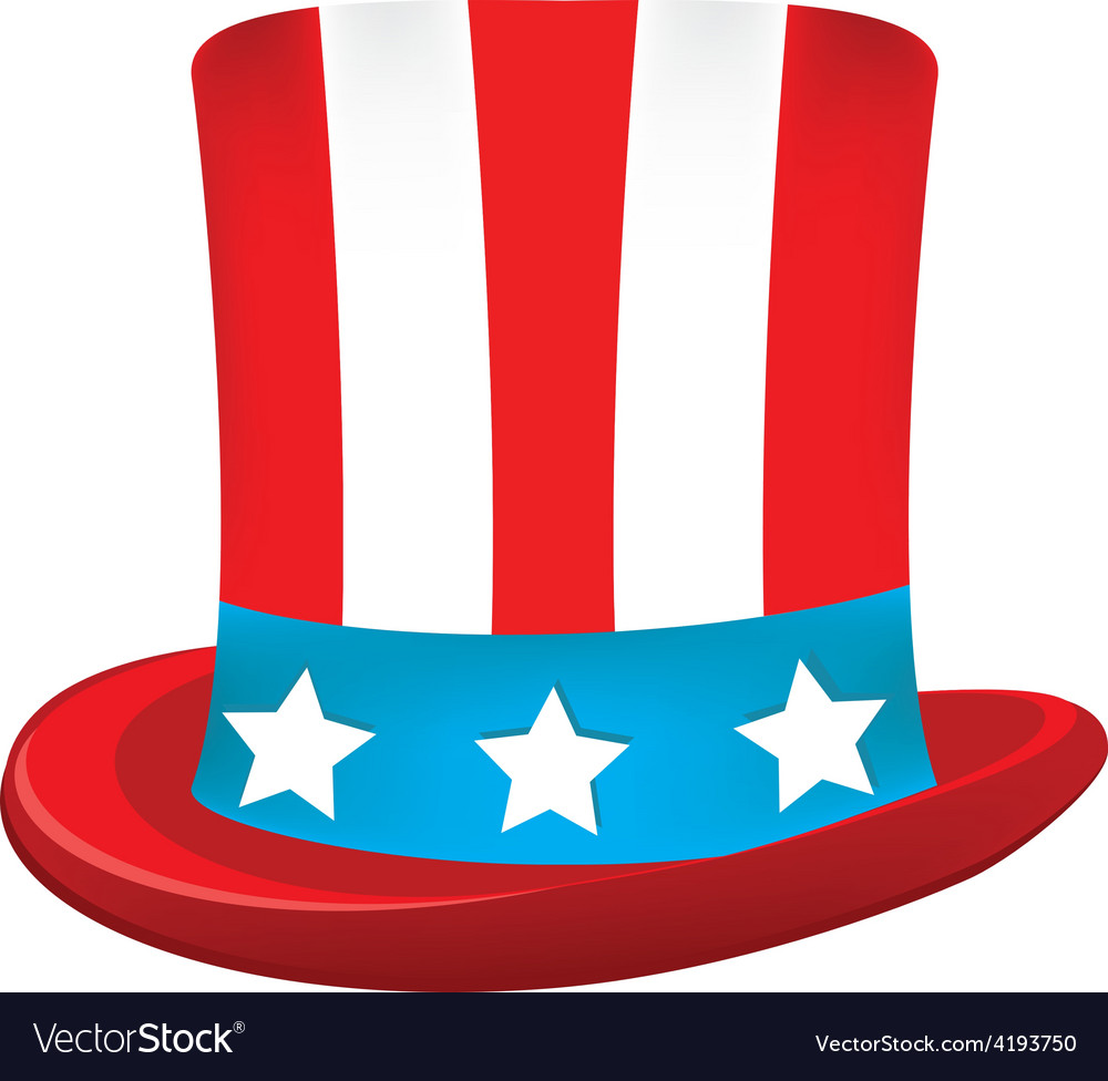 Uncle sam hat vector | Price: 1 Credit (USD $1)