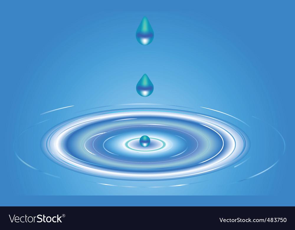 Water swirls vector | Price: 1 Credit (USD $1)