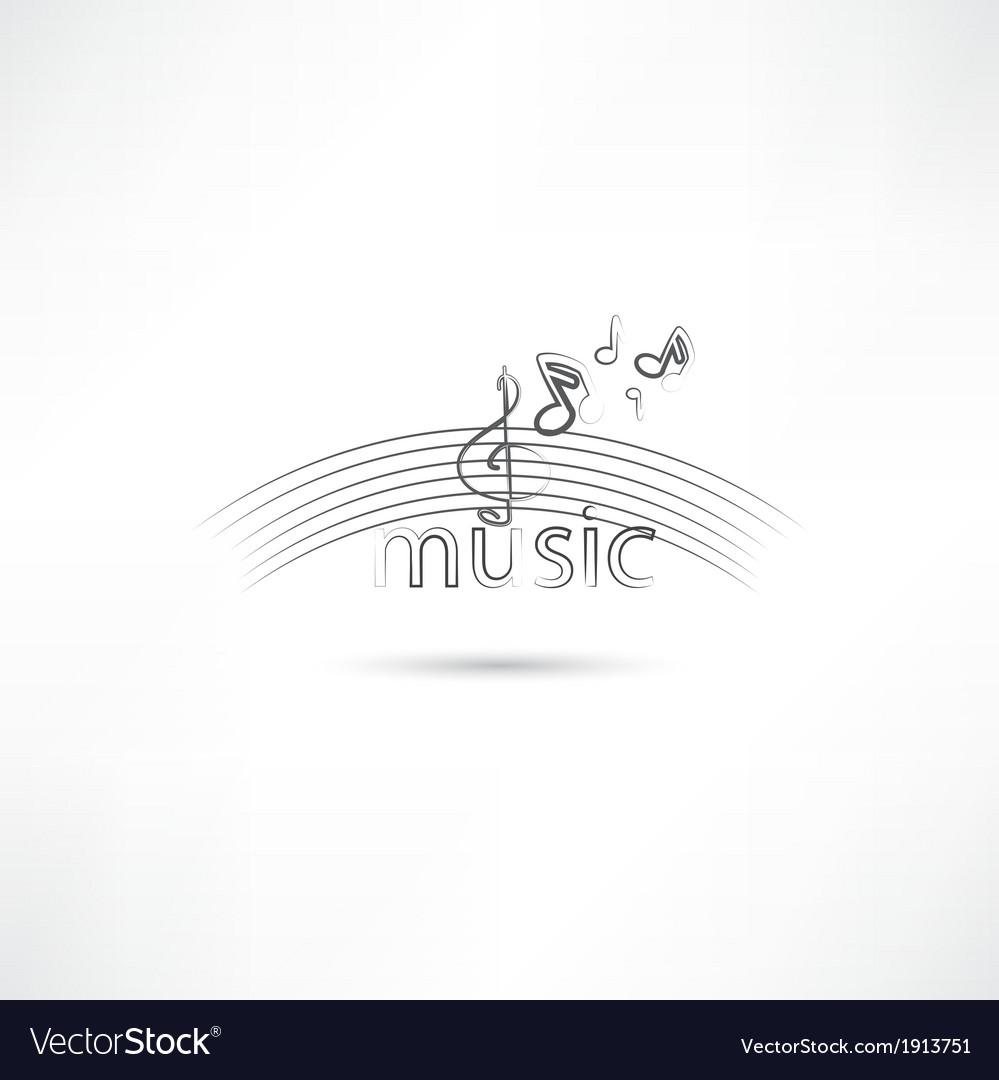 Listen to melody vector | Price: 1 Credit (USD $1)