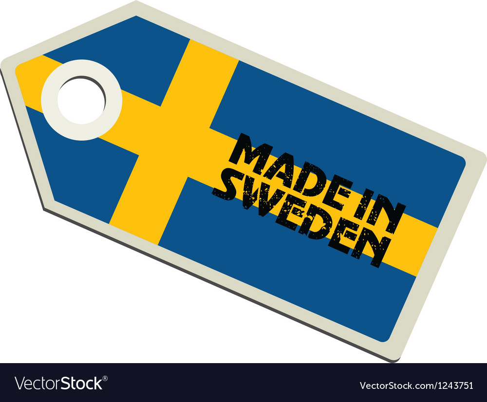 Made in sweden vector | Price: 1 Credit (USD $1)