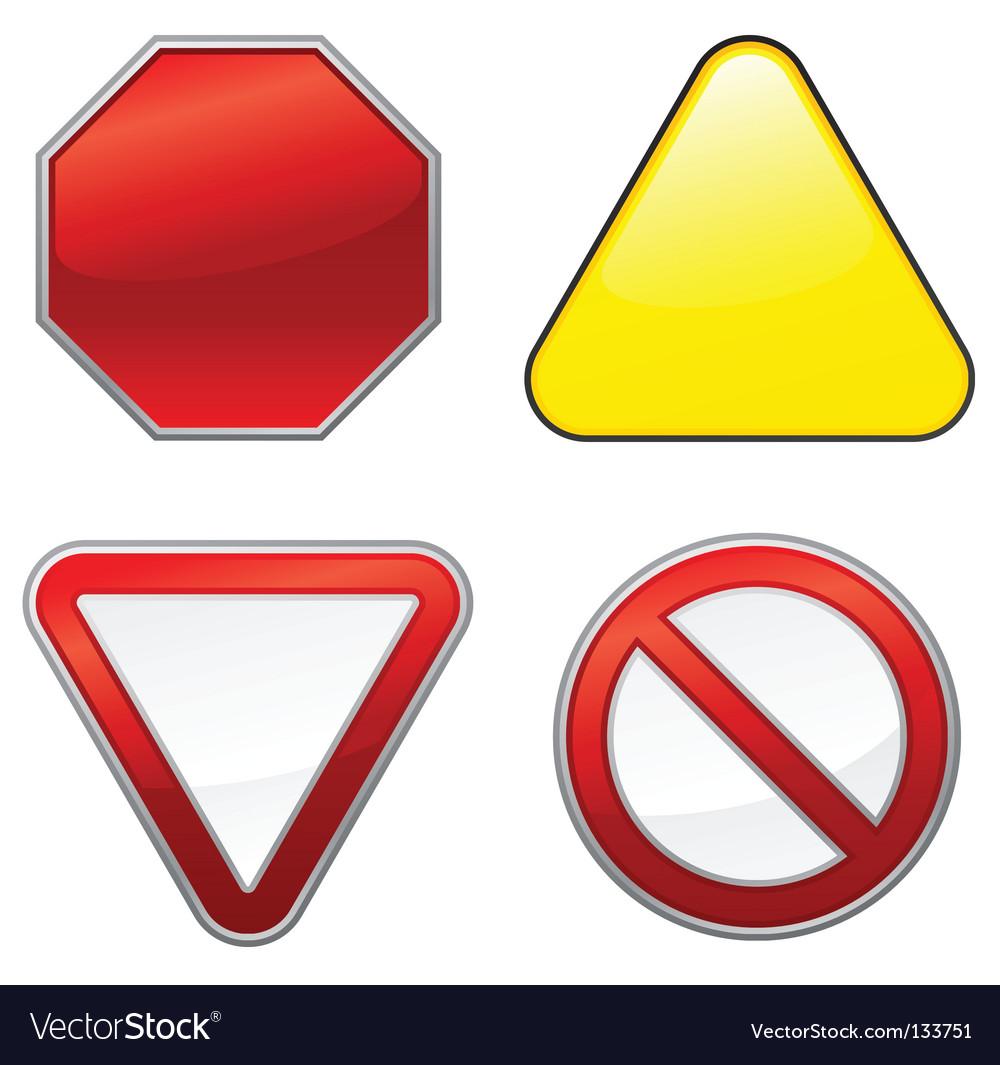 Road signs vector   Price: 1 Credit (USD $1)