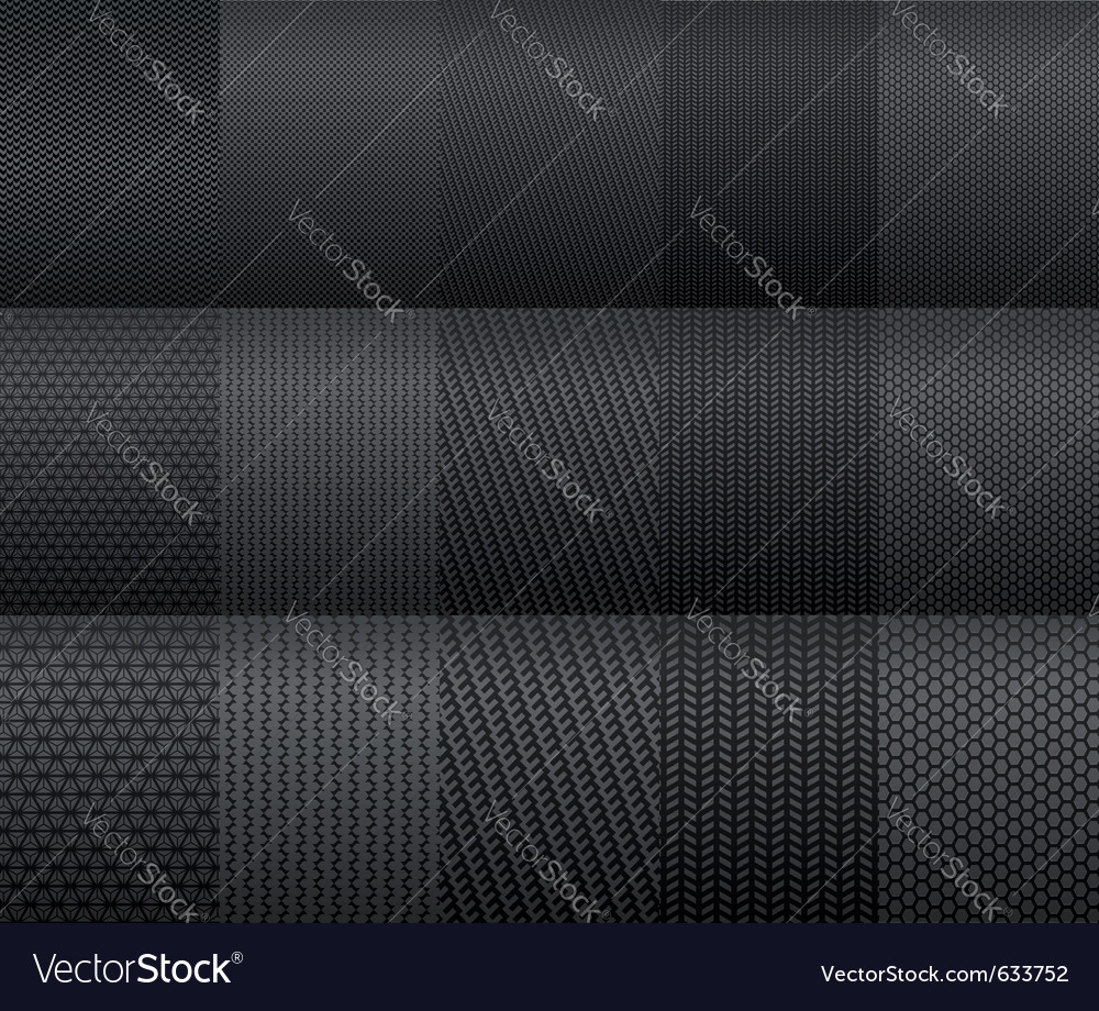 Carbon and fiber backgrounds for texture design vector | Price: 1 Credit (USD $1)