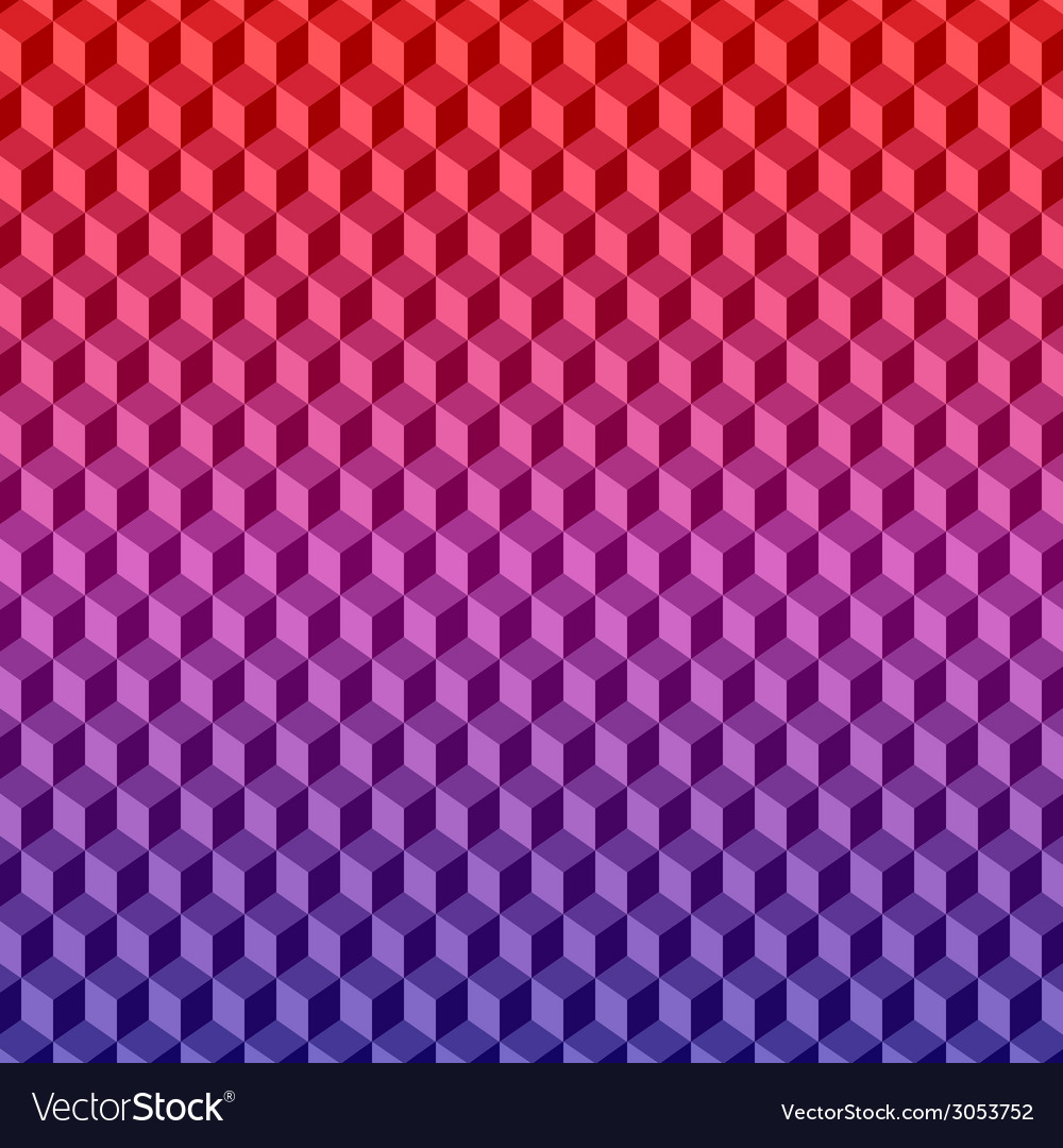 Geometric background texture 3d pattern vector | Price: 1 Credit (USD $1)