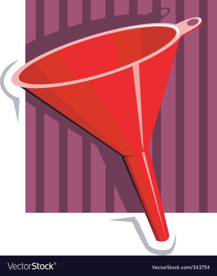 Funnel vector | Price: 1 Credit (USD $1)
