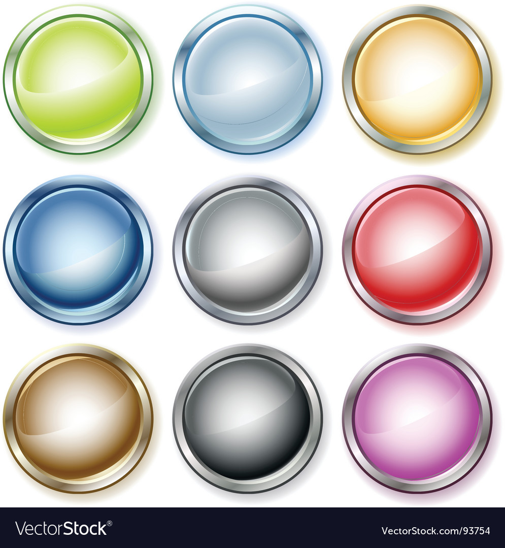 Glass button vector   Price: 1 Credit (USD $1)