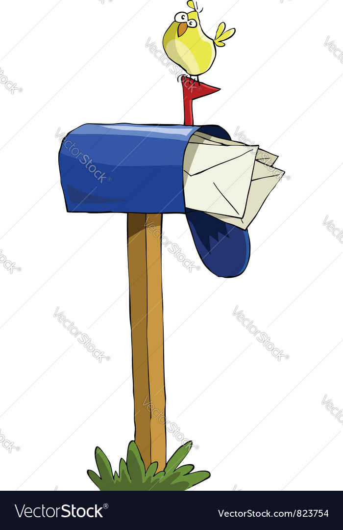 Mailbox vector | Price: 1 Credit (USD $1)