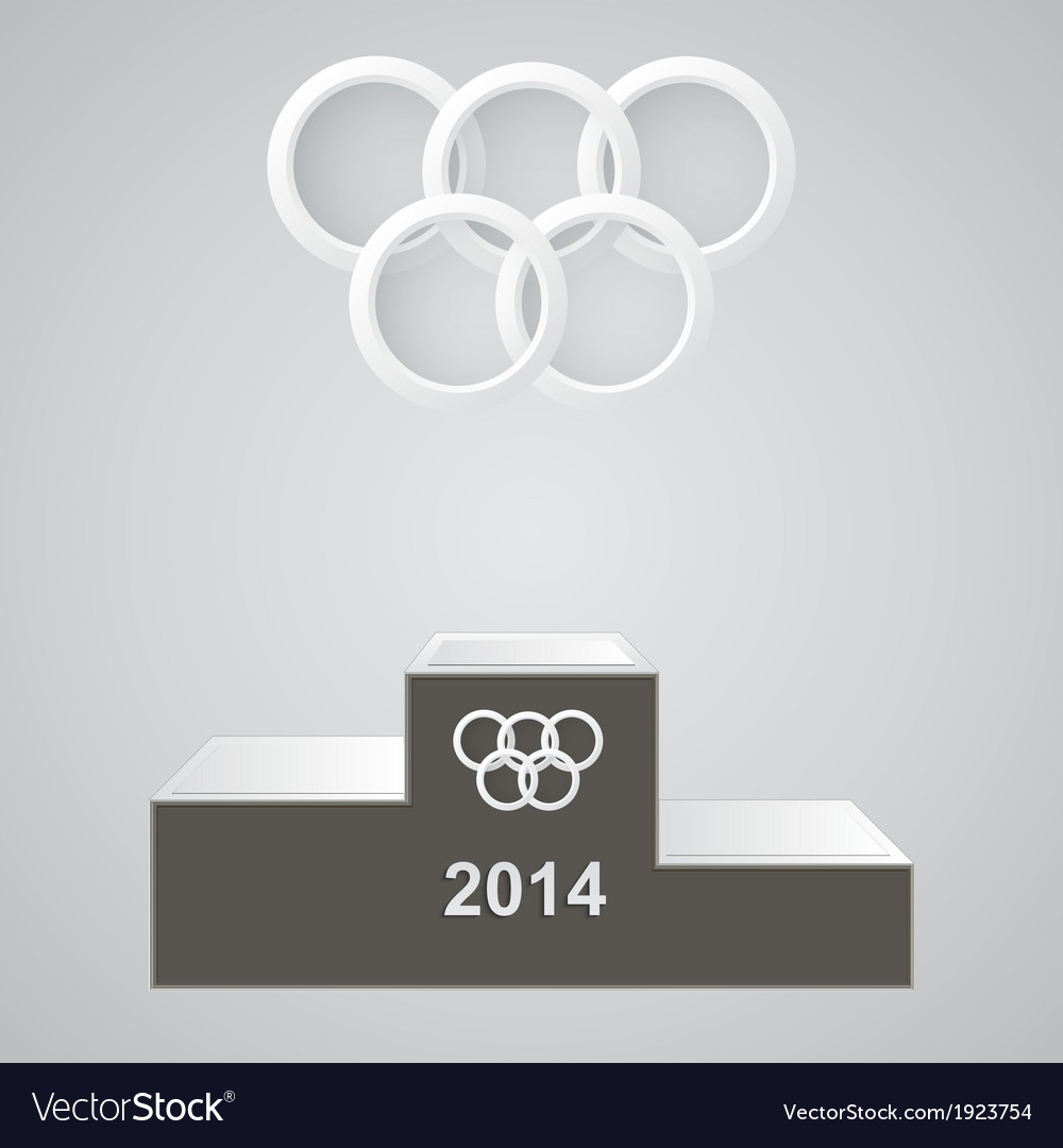 Olympic rings vector | Price: 1 Credit (USD $1)