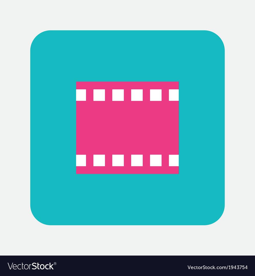 Photo film icon vector   Price: 1 Credit (USD $1)