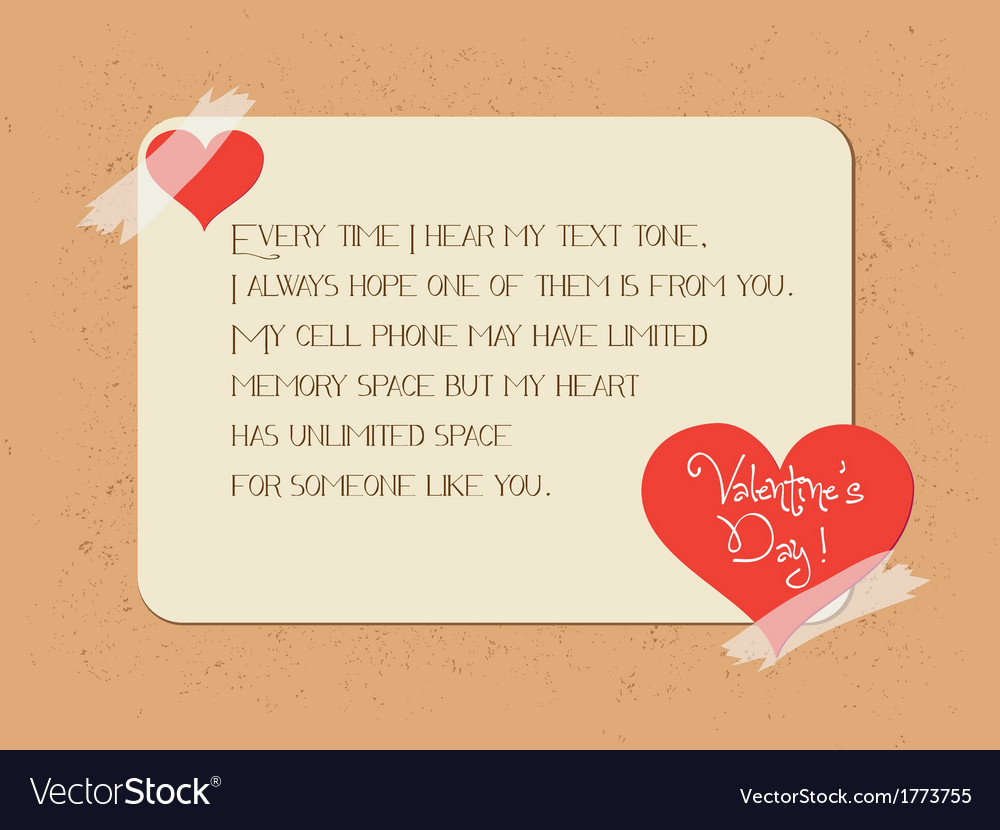 Valentine greeting poster card vector | Price: 1 Credit (USD $1)