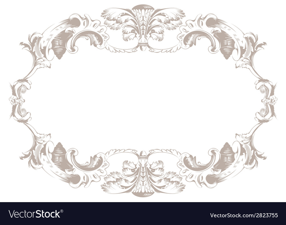 Vintage ornament background decor background vector | Price: 1 Credit (USD $1)