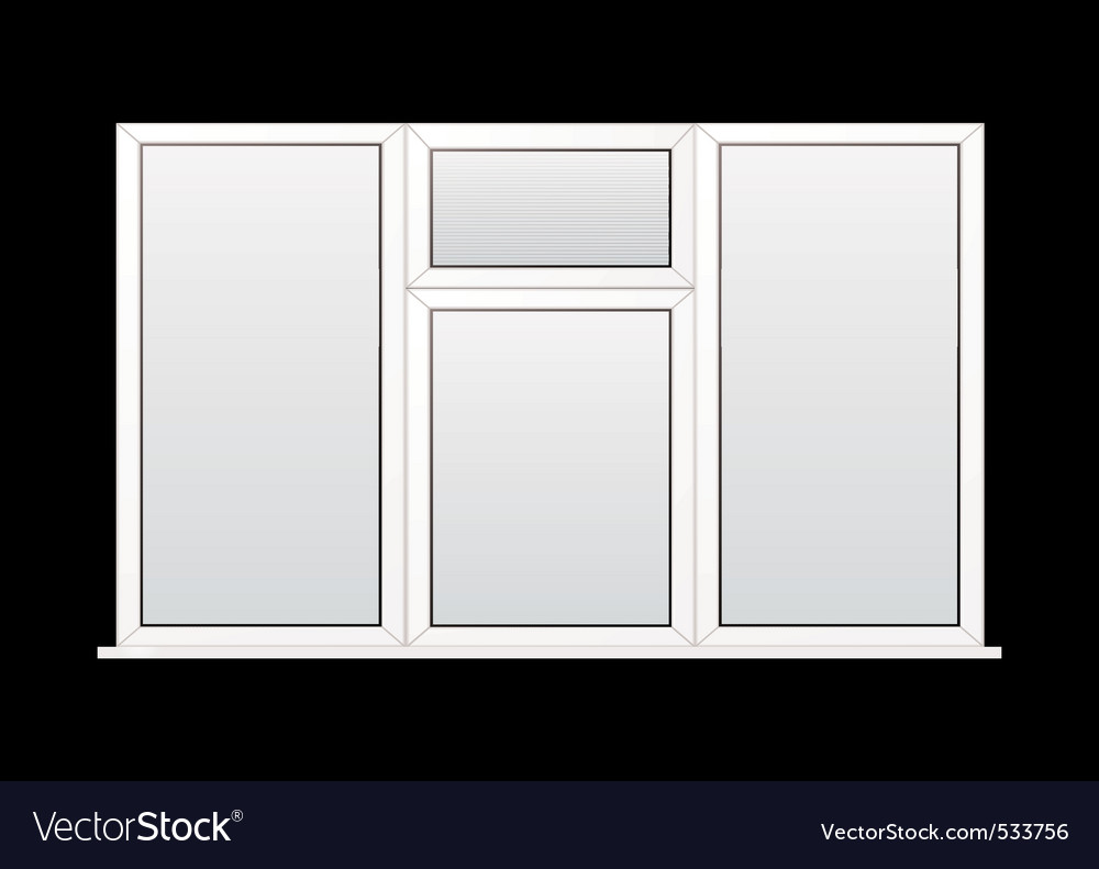 Modern window vector | Price: 1 Credit (USD $1)