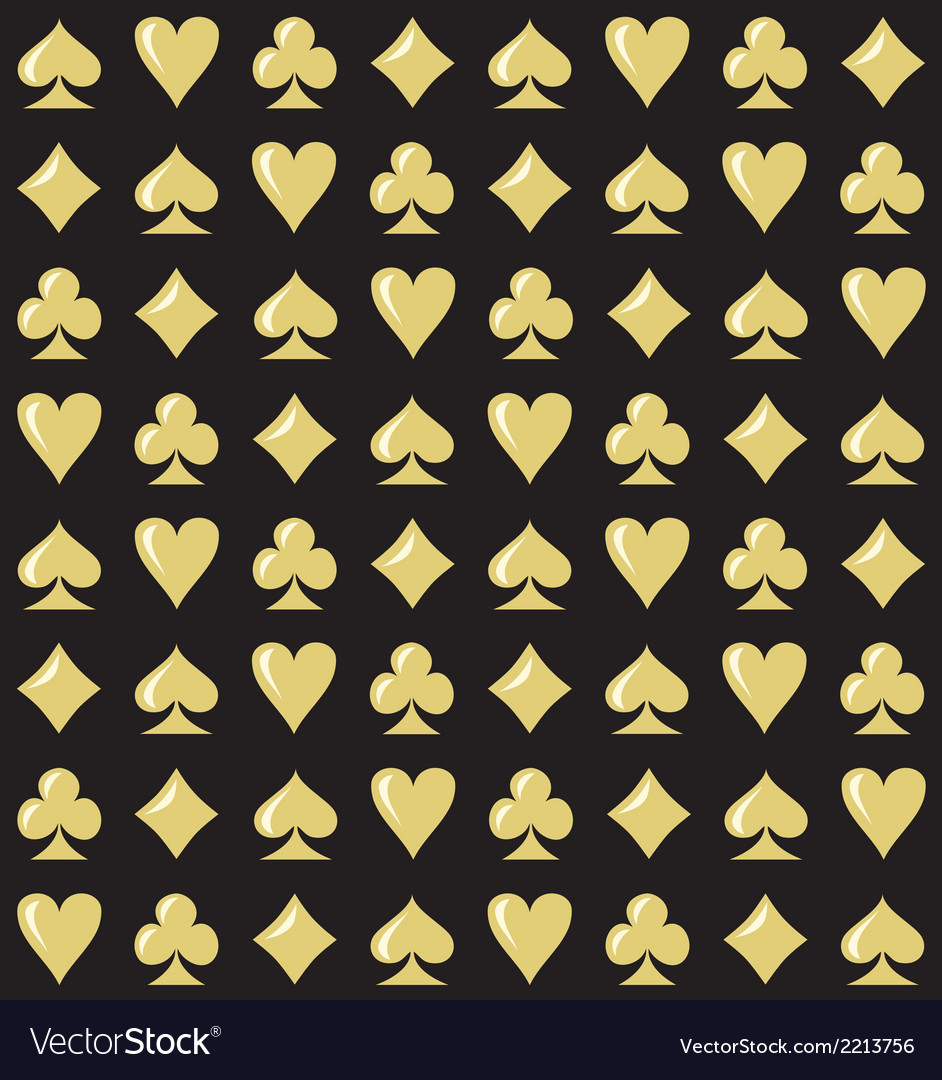 Royal casino seamless pattern vector | Price: 1 Credit (USD $1)