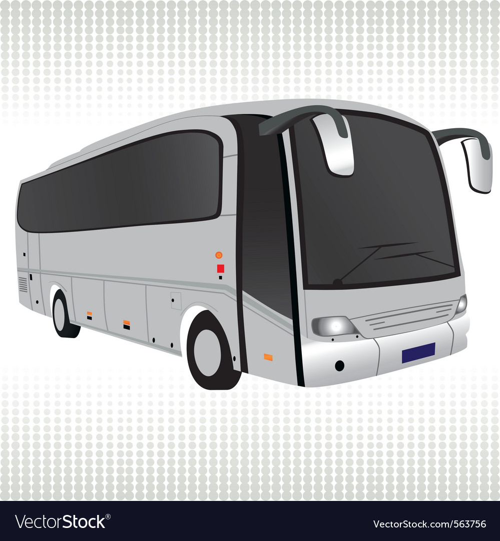 Tour bus vector | Price: 1 Credit (USD $1)