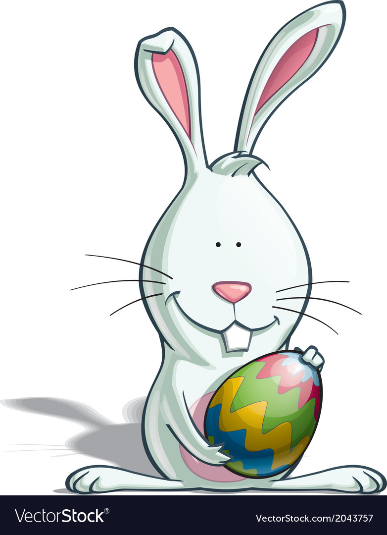 Easter bunny egg vector | Price: 1 Credit (USD $1)