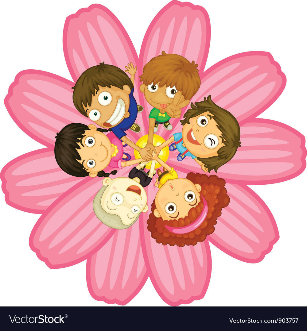 Flower power vector | Price: 3 Credit (USD $3)
