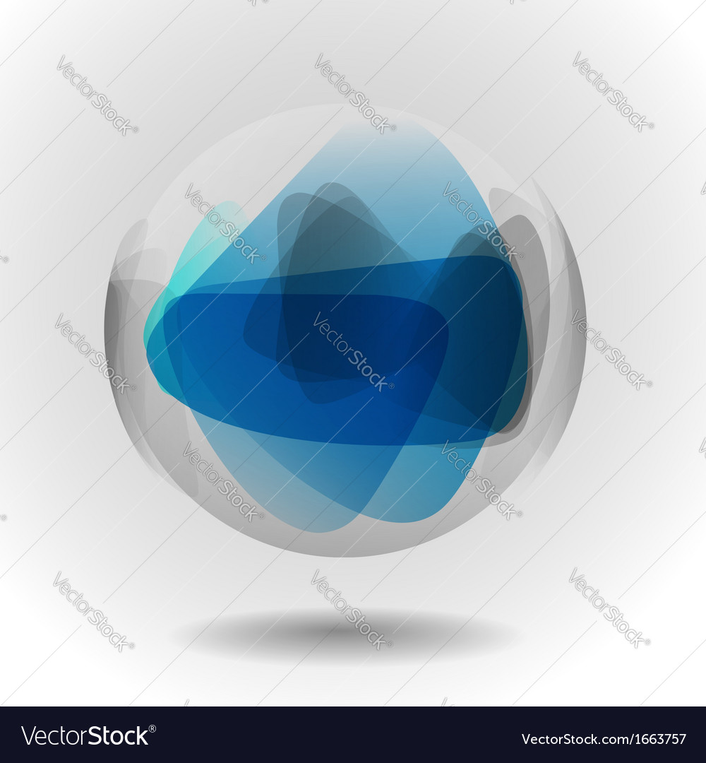 Sphere glass ball vector | Price: 1 Credit (USD $1)