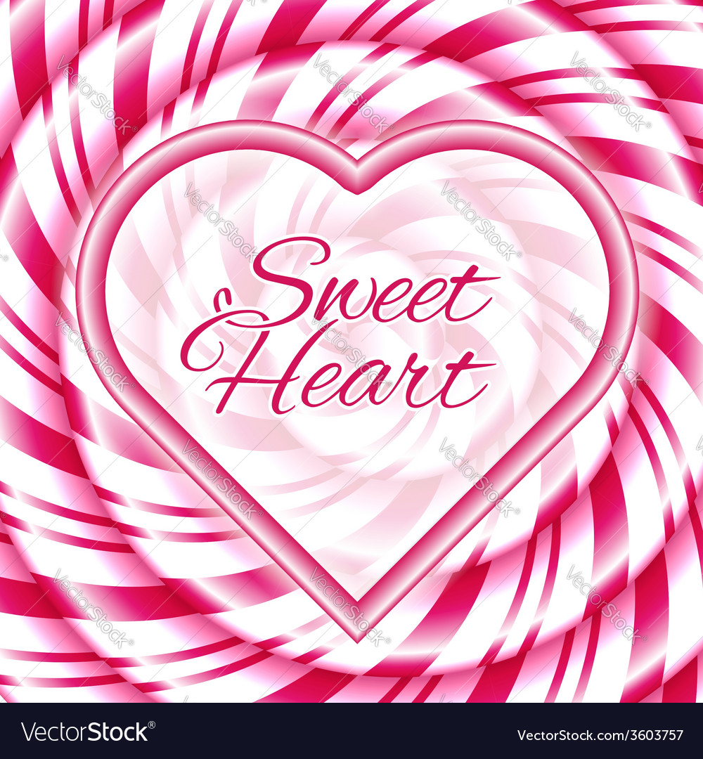 Sweet heart vector | Price: 1 Credit (USD $1)
