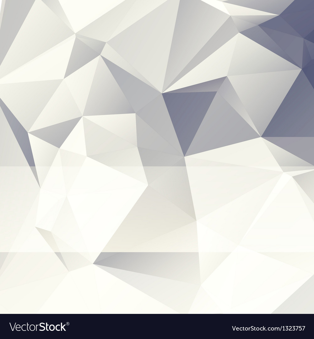Triangular style paper abstract background vector | Price: 1 Credit (USD $1)