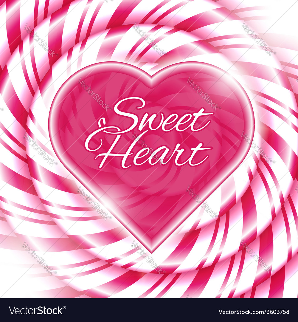 Candy 03 heart vector | Price: 1 Credit (USD $1)