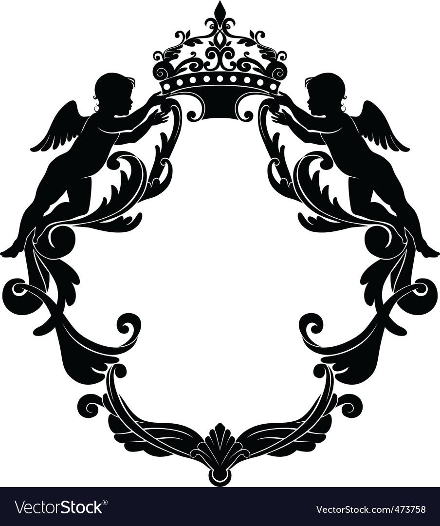 Heraldic shield vector   Price: 1 Credit (USD $1)