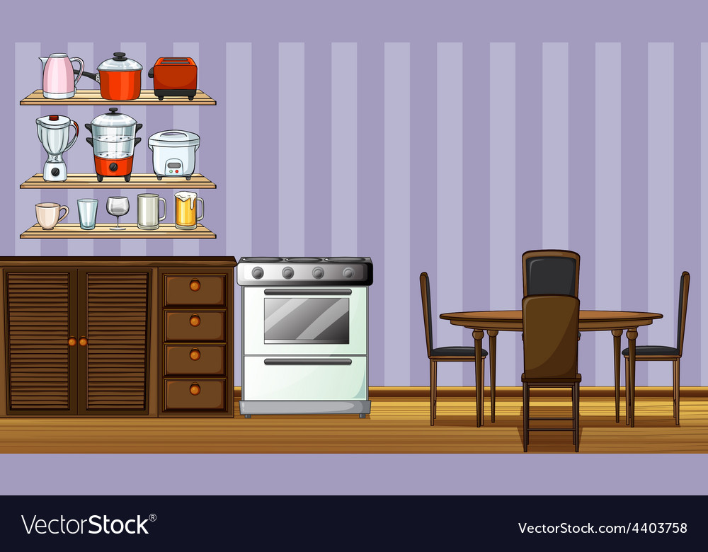 Kitchen vector | Price: 3 Credit (USD $3)